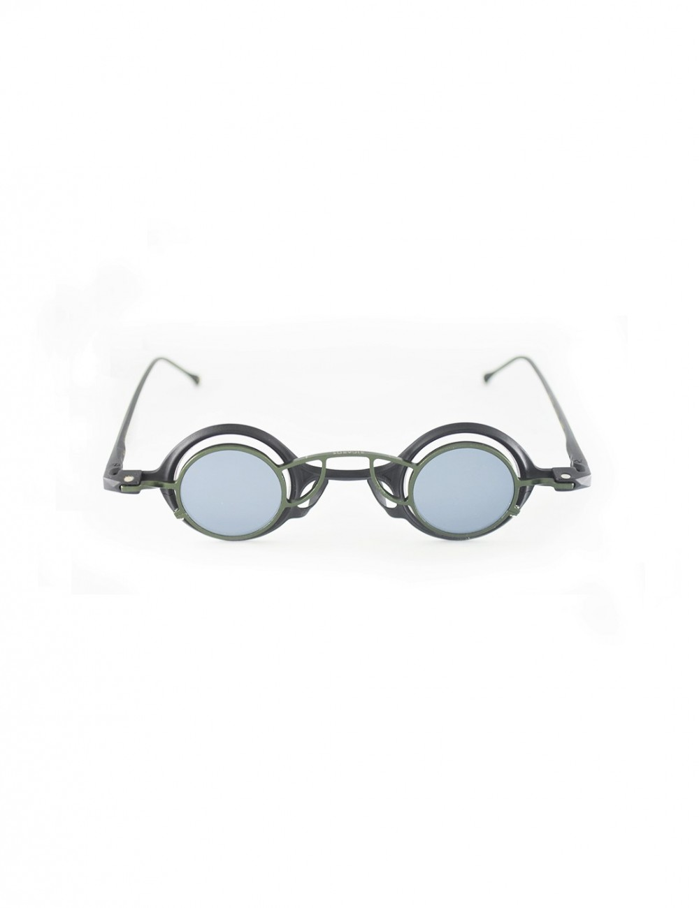 Rigards Rg 0104 Cu Copper Blk Oliv Clip Silver Mirror
